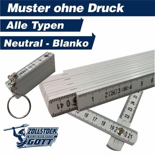 Zollstock online bedrucken - Meterstab gestalten - Musterzollstock