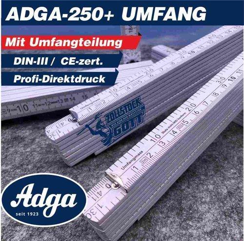 Zollstock online bedrucken - Meterstab gestalten Metrisch und Inch / Zoll