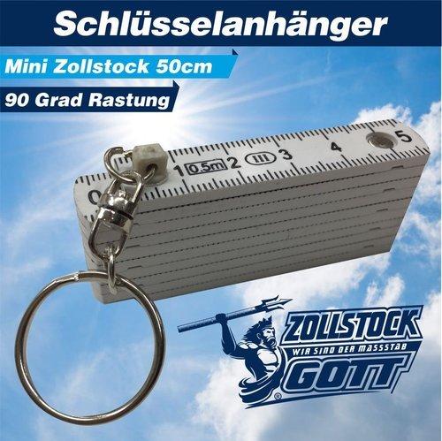 Zollstock online bedrucken - Meterstab gestalten PVC / Plastik 50cm
