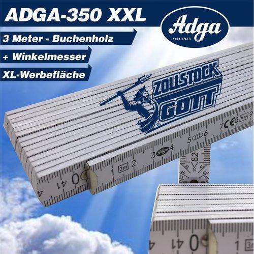 Zollstock 3 Meter online Shop bedrucken - 3 Meter Meterstab gestalten - Buchenholz Meterstab